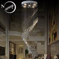 Royal crystal loft vintage chandelier Europe style with GU10 5 lights for living room bedroom hotel lobby restaurant corridor