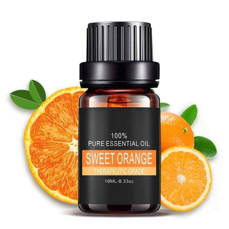 Huiles essentielles végétales pures pour aromathérapie aromatique diffuseurs huile aromatique lavande citronnelle huile d'arbre soin naturel de l'air à domicile