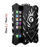 Zimon For IPhone 6s Heavy Duty Aluminum Metal Bumper Back Cover Case For IPhone 6 4