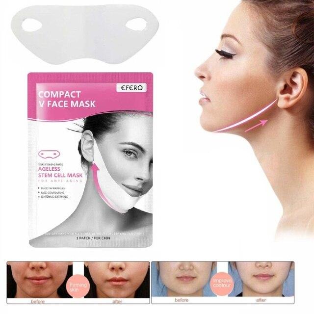 EFERO Miracle V Shape Lifting Face Mask Face Slim Chin Check Lift Peel-off Mask Facial Neck Masks  Face Slimming Skin Care TSLM1