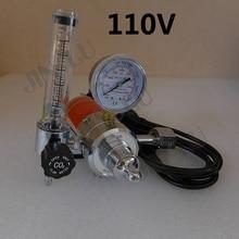 цена на BS341 W22 CO2 Gas Regulator Gauge with Heater 110V  Flow Meter Mig Welding Welder  SALE1