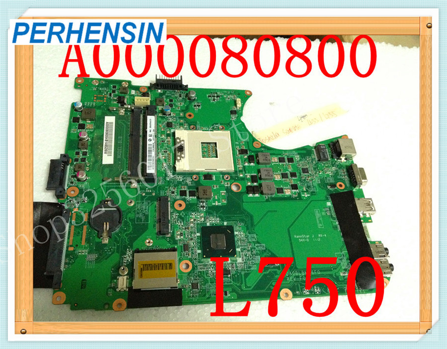 For Toshiba For Satellite L755 Laptop MOTHERBOARD A000080800  100% WORK PERFECTLYFor Toshiba For Satellite L755 Laptop MOTHERBOARD A000080800  100% WORK PERFECTLY