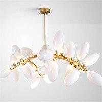 Modern Egg Shaped LED Pendant Lights Fashion Spiral LED Pendant Lamp for Bedroom Restaurant Bar Decor Hanging Pendant Lamps E039