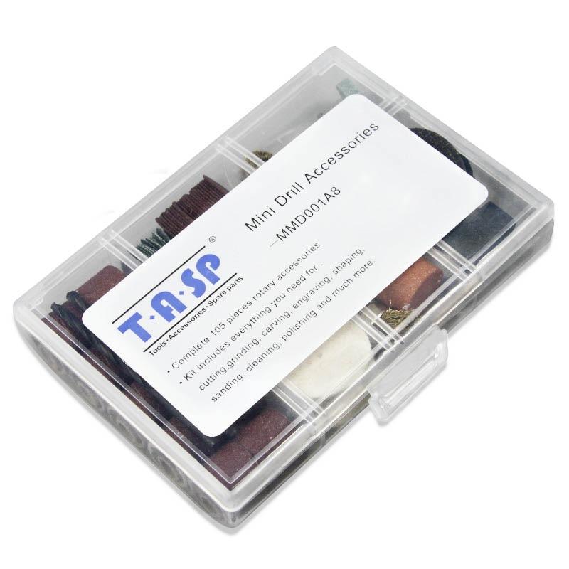 105pcs accessori per utensili rotanti 3.2mm gambo diyer levigatura - Accessori per elettroutensili - Fotografia 3