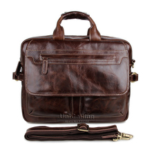 Brand quality men leather bag noble fashion genuine leather men bag trendy men real leather business handbag laptop bag 15 inch