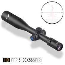 Discovery HD 5-30X56 SFIR Long Range FFP First focal plane Shooting Hunting Riflescope 34mm Tube optical sight collimator scope