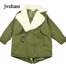 Jvzkass 2019 Winter new fur army green lamb hair coat female Korean long-sleeved thin thick jacket tide Z60