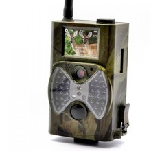 GSM/GPRS/MMS Digital Infrared Trail Camera with 1080P HD Video Clips & High Sensitive Passive Infrared (PIR) Motion Sensor