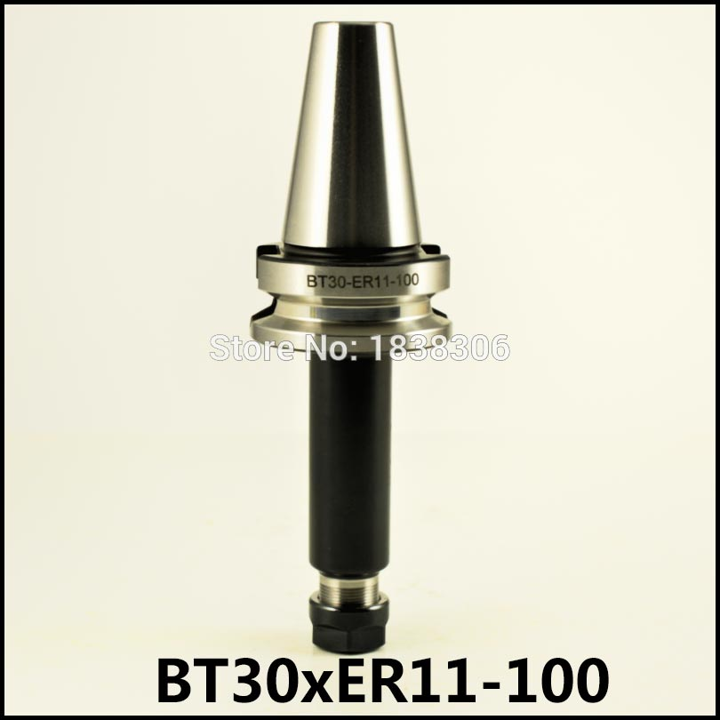New BT30 Tool Holder Milling Cutter  1pc  ER11 100 mm Collet Chuck Holder Cnc Milling Milling chuck arbors