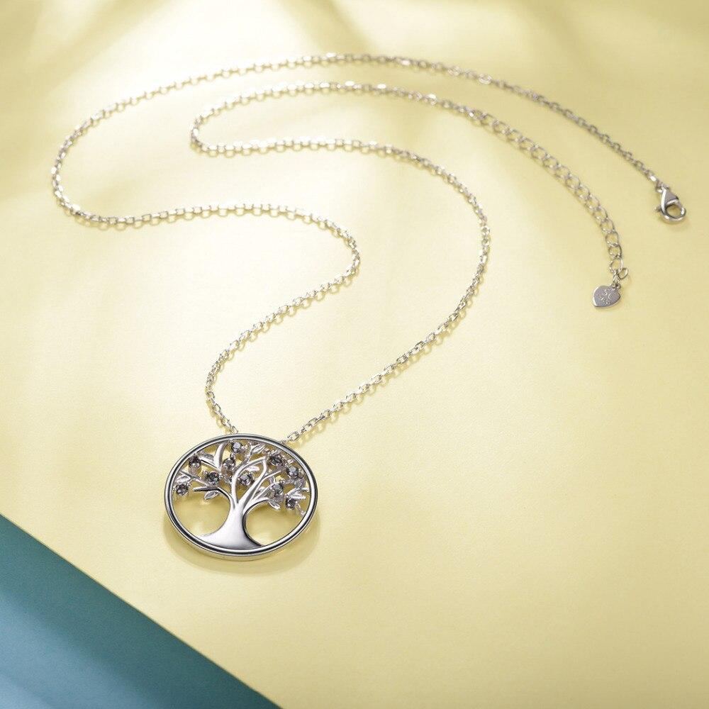 Silvercute Multicolor Mystic Topaz Tree Life Teclace Natural Gemstone - Նուրբ զարդեր - Լուսանկար 3