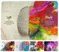 Левый и Правый Мозг Красочные Для Наклейки Macbook Air 11 12 13 Pro 13 15 Retina Наклейка Ноутбук Стены Винила Автомобиля Логотип Кожа Мраморный Матовая