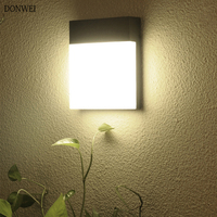 15W Outdoor Wall Lamp Waterproof LED Garden Lamp Aisle Corridor Outdoor Balcony Porch Light AC110V 220V Courtyard Terrace Lamp