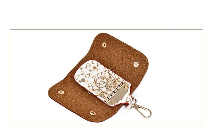 Dm Prime Fênix bolsa de chaveiro com detalhes dourado