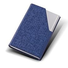 Neue porte Cortex edelstahl dünne visitenkarte halter männer frauen business fashion karte box von metall kreative geschenke