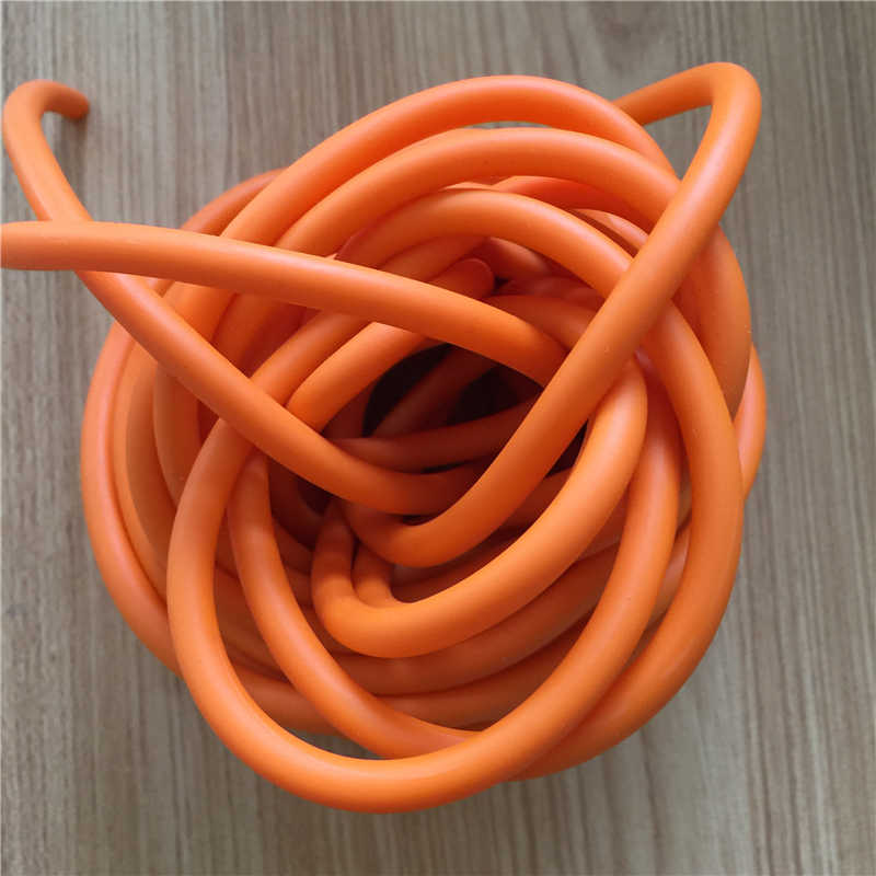 10 M / Bag Orange 3060 Od6mm And Id3mm Shooting, Hunting, Slingshot Rubber Hose Strapping New A-134