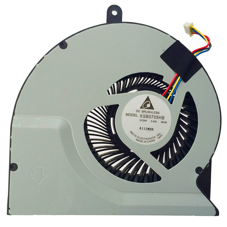New Original Cpu Cooling Fan For ASUS N56 N56DP N56VW N56VM N56VZ N56SL N56DY DC Brushless Notebook Laptop Cooler Radiators Fan laptop cooling fan for asus pu500ca fan