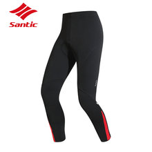 Santic Winter Cycling Pants Windproof Breathable 4D Pad MTB Mountain Road Bike Pants Reflective Bicycle Tights Pantalon Ciclismo