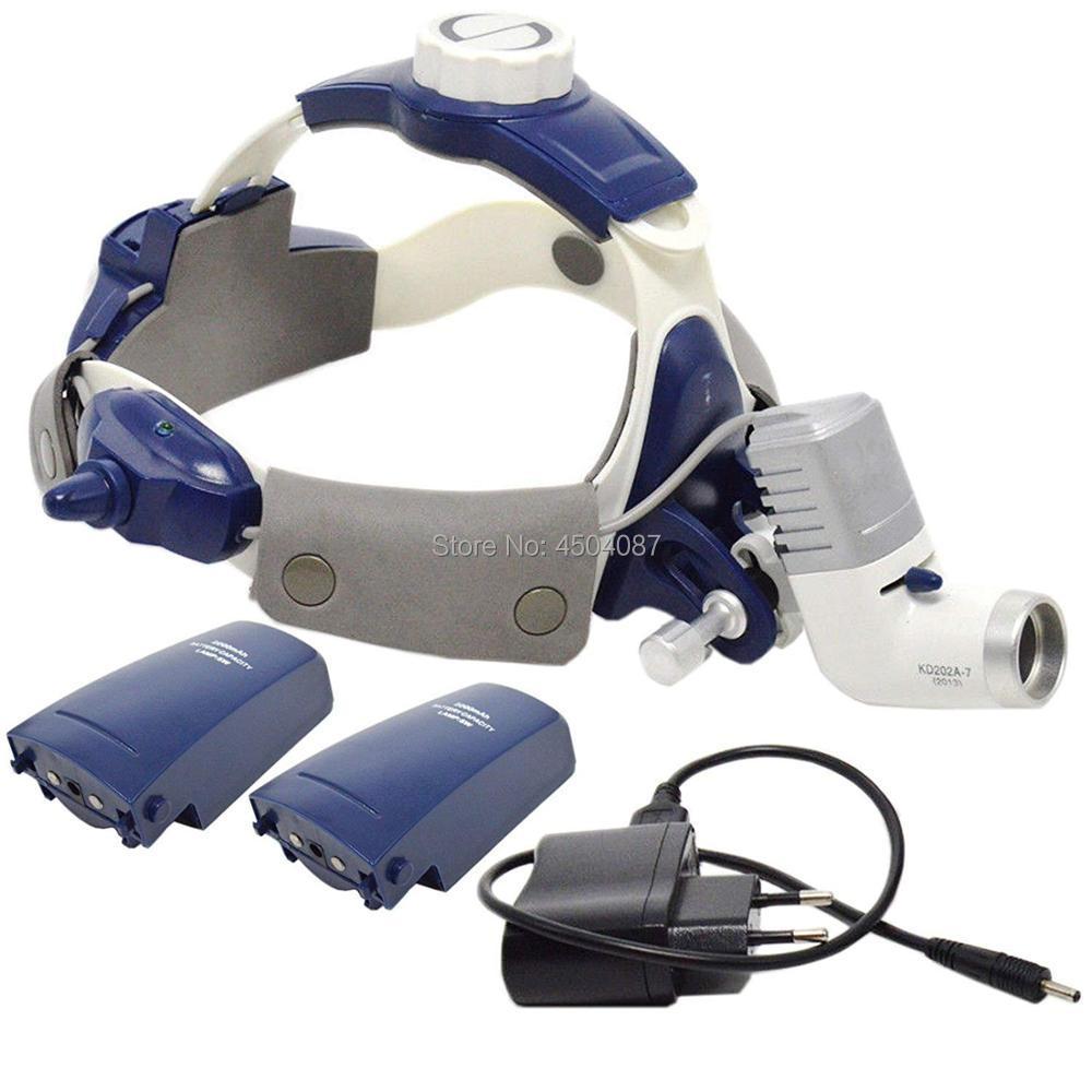 Высокая Мощность медицинской фар 5 Вт светодио дный медицинский Налобный фонарик зубные Хирургическое Медицинский фара фокусировки света