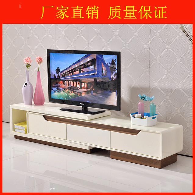Extension Type Tv Cabinet Modern Lcd Cabinet ,tv Stands With Four Big  Cabinets Living