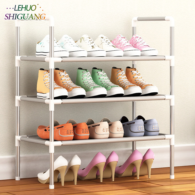 Shoe Rack Nonwovens Multiple layers Shoes Easy Assembled Shelf Storage Organizer Stand Holder Keep Room Neat Door Space Saving shoe rack easy assembled plastic multiple layers shoes shelf storage organizer stand holder keep room neat door space saving