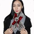 rabbit scarf  2016 Hot in winter
