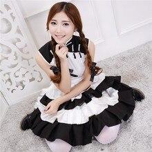 Coseno vocaloid femenino panda cosplay disfraces de halloween de mucama mujeres de partido atractivo traje criadas de rol dress b-3921