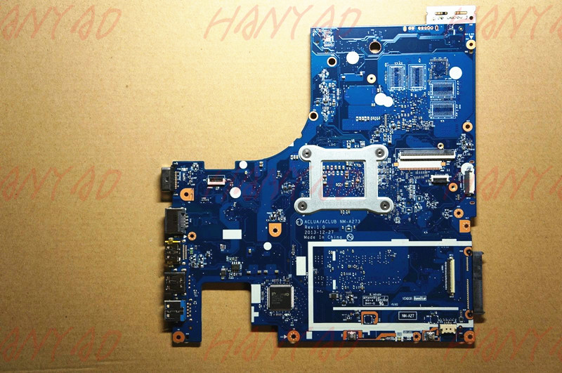 Купить с кэшбэком ACLUAACLUB NM-A273 For Lenovo Z50-70 Laptop Motherboard i5 cpu ddr3 840M4GB 5B20G45431