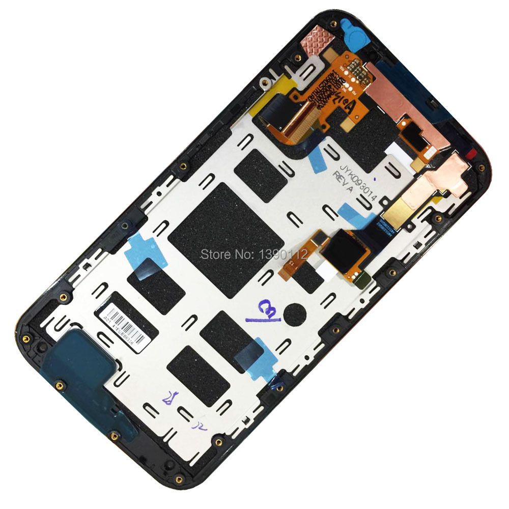 LCD Display Screen + Digitizer Touch Panel & Frame Assembly For Motorola Moto X 2nd Gen (2014) X+1
