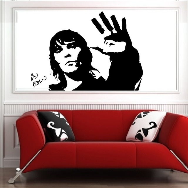 IAN BROWN STONE ROSES Wall Art Sticker Mural Vinyl Decal Music Stickers Living Room Bedroom