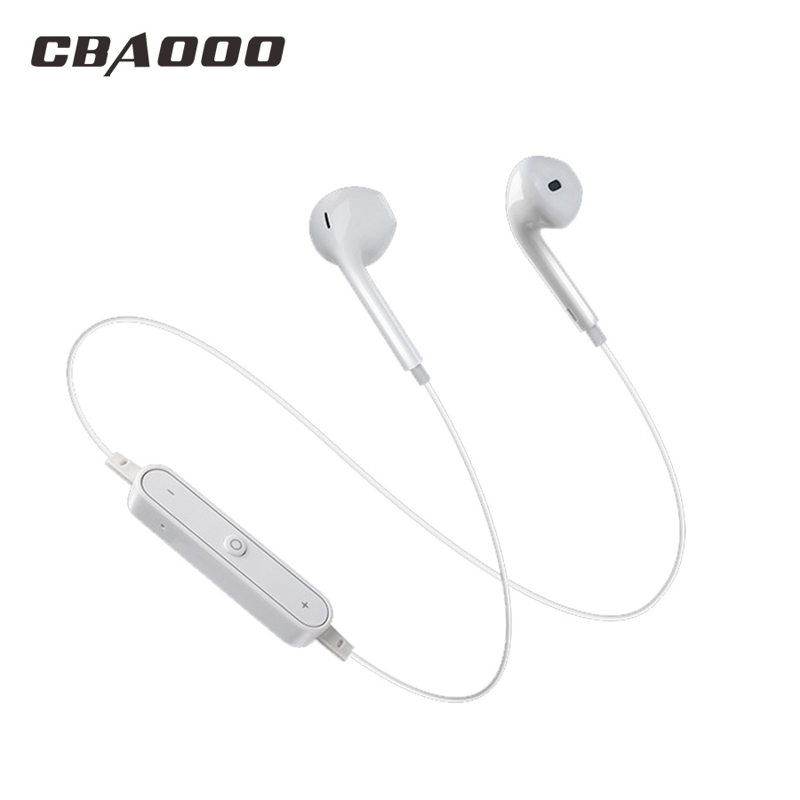 CBAOOO <font><b>S6</b></font> <font><b>Bluetooth</b></font> <font><b>earphones</b></font> Wireless headsets Music <font><b>Bluetooth</b></font> Sport Stereo <font><b>earphone</b></font> with mic for Phone Android Xiaomi image