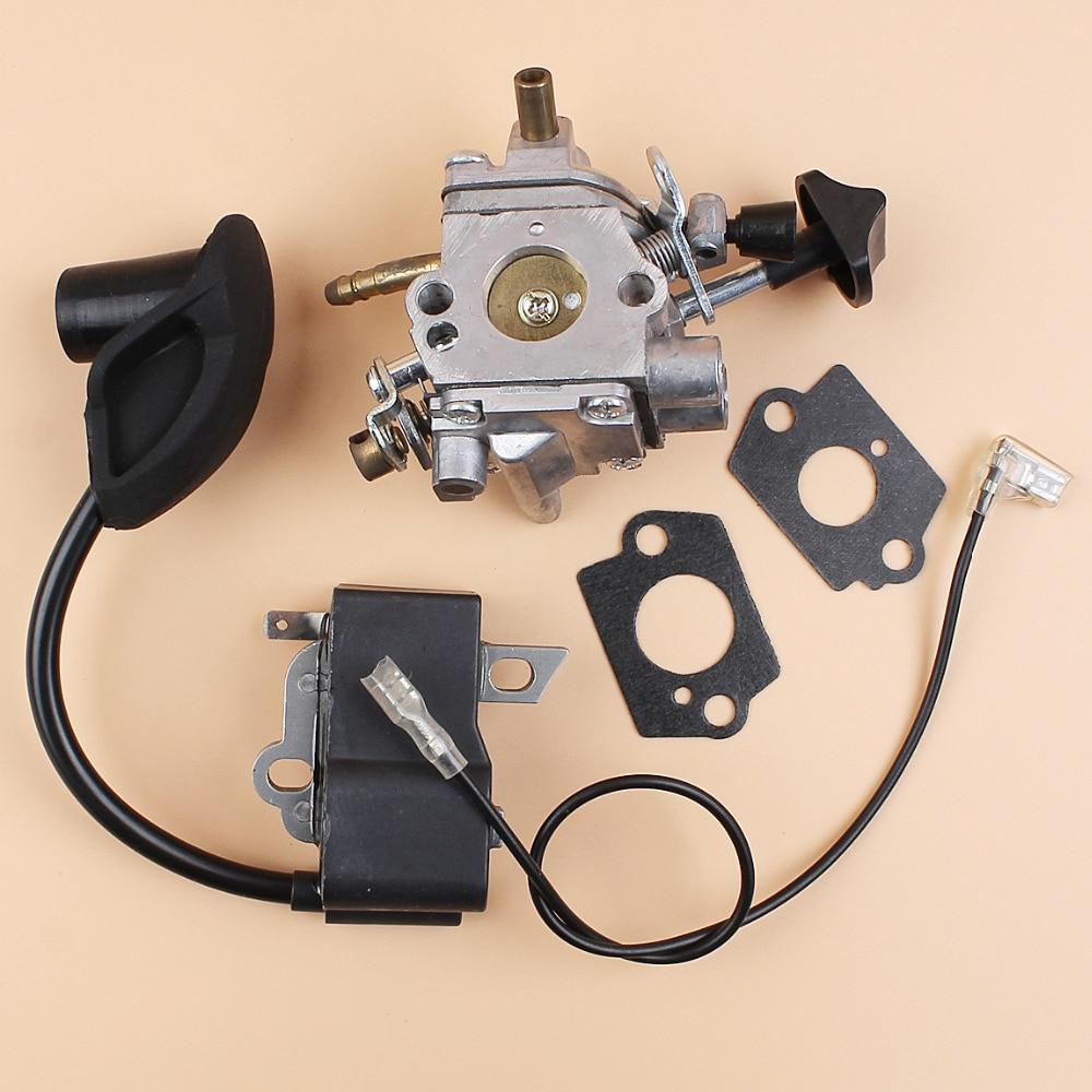 US $24 12 |Carburetor Ignition Coil Module For STIHL BR600 BR550 BR500 Leaf  Backpack Blower Engine Motor Parts Zama C1Q S183 Carb-in Grass Trimmer