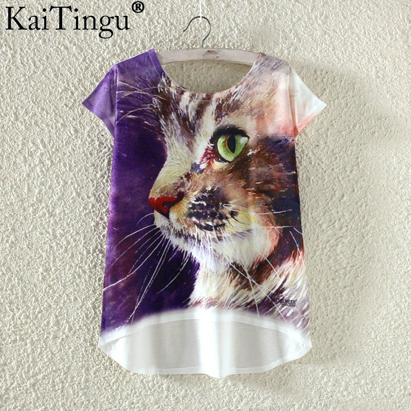 HTB1BuZPOVXXXXXBaFXXq6xXFXXXt - Kawaii Cute T Shirt Harajuku High Low Style Cat Print