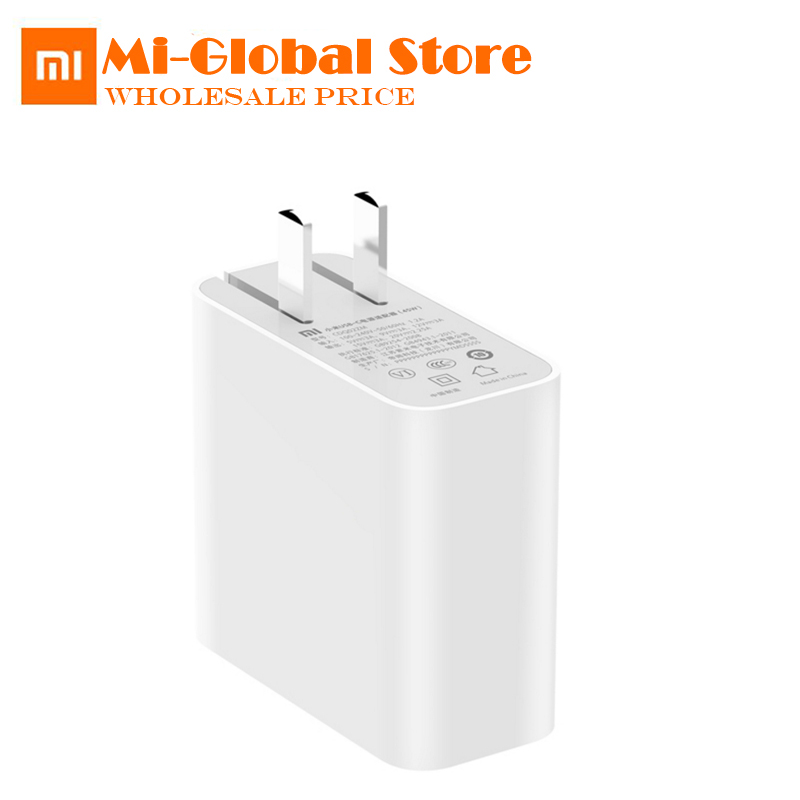 Xiaomi Fast Charger USB-C Power Adapter 45W 5V-20V 2-3A PD2.0 QC3.0 Type-C original xiaomi Travel Adapter