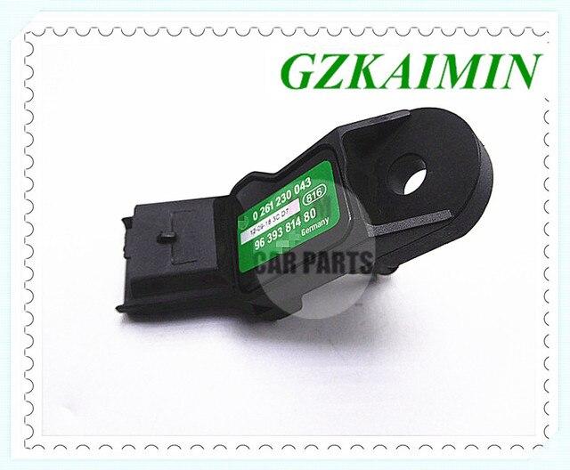 Manifold Absolute Pressure MAP Sensor For PEUGEOT 106 PARTNER 206 307 807 407 1007 207 0261230043 0261230043 0 261 230 043