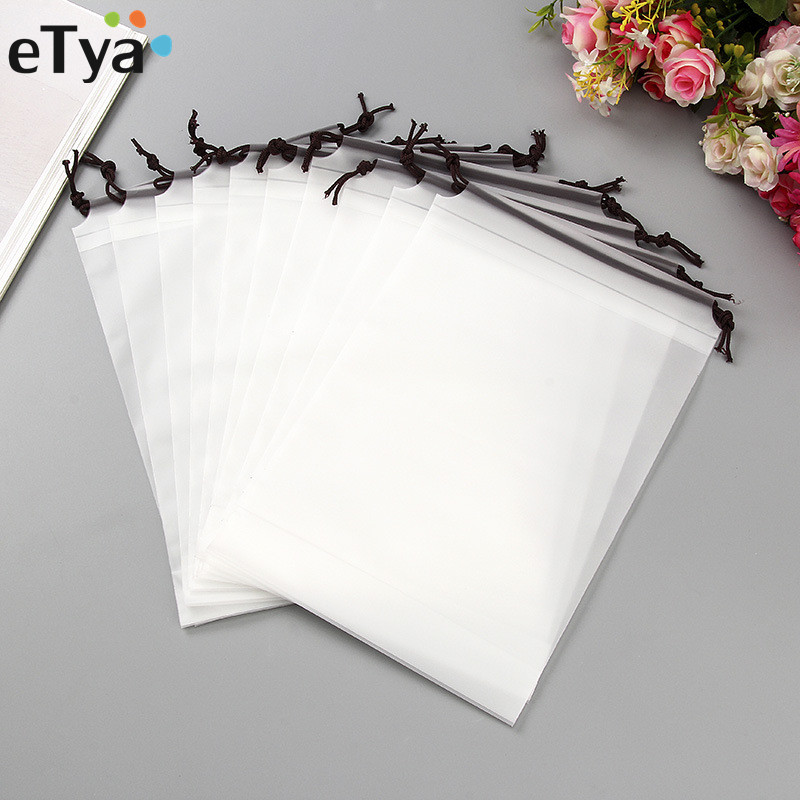 eTya 2019 Waterproof Clear PVC Makeup Bag Women Men ...
