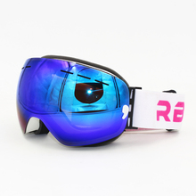 ski goggles double lens layers UV400 anti fog big ski mask glasses skiing men women snow snowboard goggles Winter Eyewear все цены