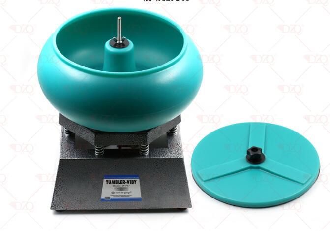 Jewelry Tumble Polishing Machines Gem Polish Machine Vibrating Rock Tumbler