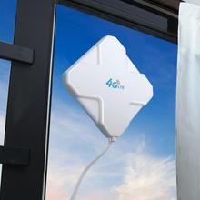 4G LTE антенна SMA aigitalal 35DBi GSM с высоким коэффициентом усиления 4G усилитель сигнала Wi-Fi усилитель сетевого приема расширитель модем адаптер антенны
