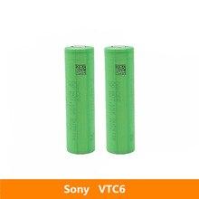 2 шт. 3,7 в 18650 3120 мАч 30A оригинальный для Sony US18650VTC6 VTC6 3,6 В IMR аккумулятор для игрушек E cig фонарь онарик и т. Д.
