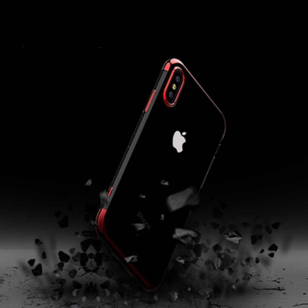 السيليكون واضح لينة حقيبة لهاتف أي فون X 10 XS ماكس XR فون 6 6 ثانية ثانية زائد كابا ل فون 7 8 7 زائد 8 زائد الهاتف غطاء غلاف