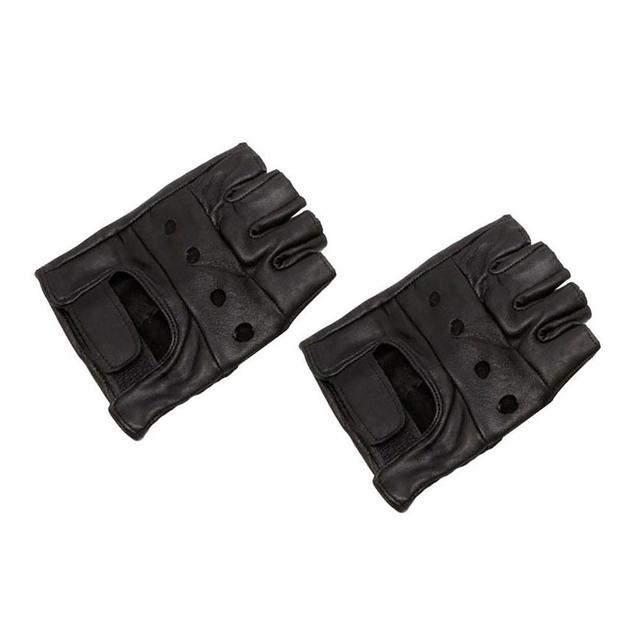 New Fashion Men Women Gym Fitness Workout Weightlifting Half Finger Anti-skid Gloves Wrap Ridding Gloves