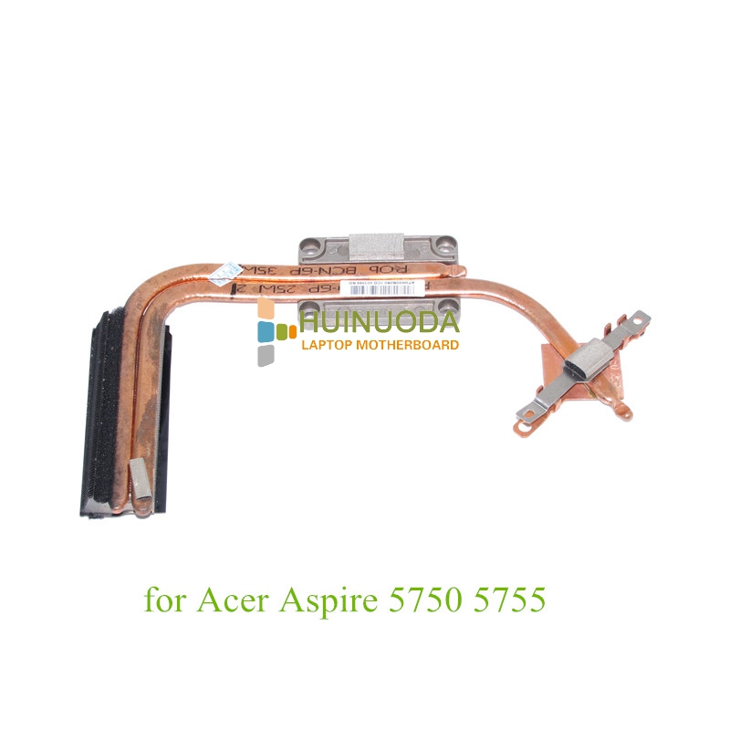 NOKOTION notebook heatsink with fan for Acer Aspire 5750 5755 Cooling System AT0HI00B0R0 new for acer aspire 5553 5553g series cpu cooling fan