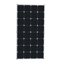 Taux de conversion élevé et haute efficacité sortie 18 V 100 W Monocristallin Panneau Solaire Semi flexible diy solaire module pour bateau RV