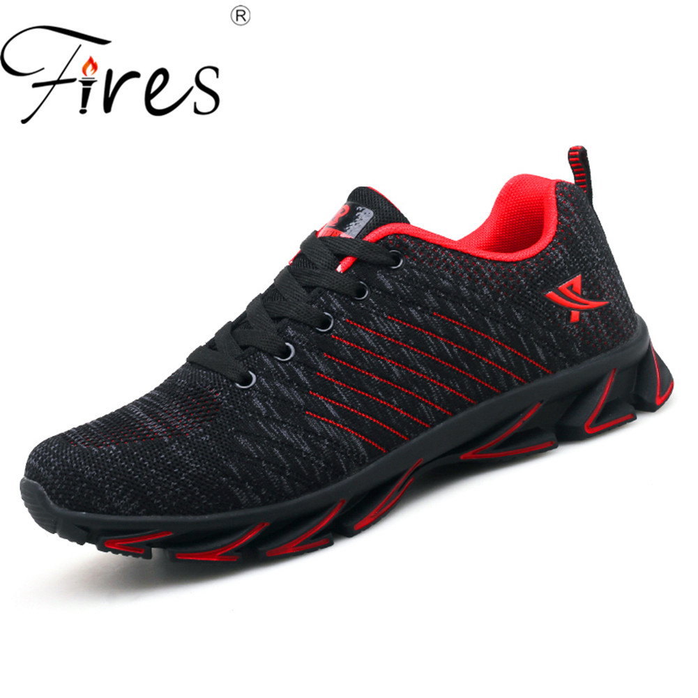 Fires Men's Running Shoes Plus Size 45 46 47 48 Outdoor Sport Shoes Breathable Sneakers Men Unisex Shoes Brand Zapatillas Hombre 2018 new running shoes for men breathable zapatillas hombre outdoor sport sneakers lightweigh walking shoes size 39 45 sneakers