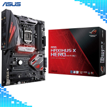 ASUS ROG Maximus X Hero (Wifi-AC) LGA1151 DDR4 DP HDMI M.2 Z370 ATX Gaming Motherboard with onboard 802.11ac WIFI