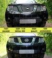 Mesh grille para Nissan Pathfinder III 2004-2010 car styling decoración moldeo protección de cromo o negro