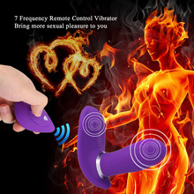 7 Frequency Remote Control Vibrator Female G Spot Clitoral Stimulator USB Rechargeable Vibrating Eggs Multi-functional Sex Toys