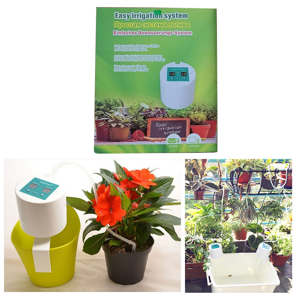 Water Pump Timer System Controller Drip Arrow Intelligent Garden Automatic Watering Device Succulents Plant Drip Irrigation Tool in Watering Kits from Home Garden