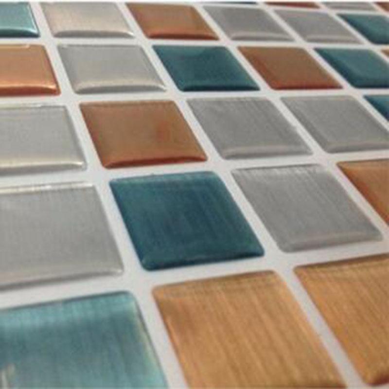Vinyl Wandfliesen Imitieren Die Wirkung Von Glas Wohnzimmer Mosaik Hintergrund Diamant Mosaiken 3d Fliesen Kche