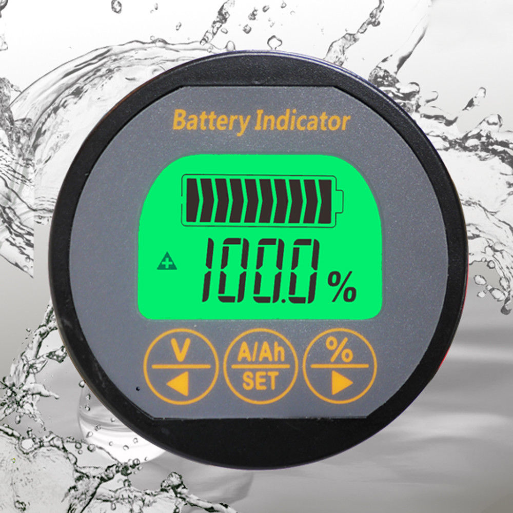 Integrated Circuits Lovely Battery Monitor Detector 80v 50a/100a/300a Capacity Tester Lithium Lead-acid 12v 24v Car Big Clearance Sale